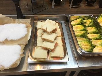 Vorbereiten der Speisen